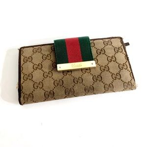 Preowned Authentic Gucci Wallet